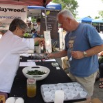 Chef Jackie at Hay Farmers Market