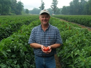 Skipper Russell of Seasonal Produce Farm