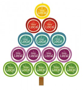 I Shop Local Tree